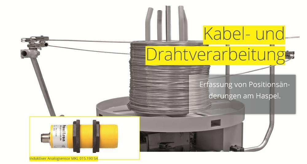 Kabel- und Drahtverarbeitung Proxitron